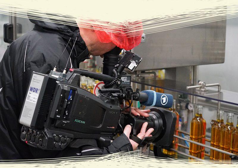 WDR bei Kleeschulte - Ölmühle Moritz Speiseoel