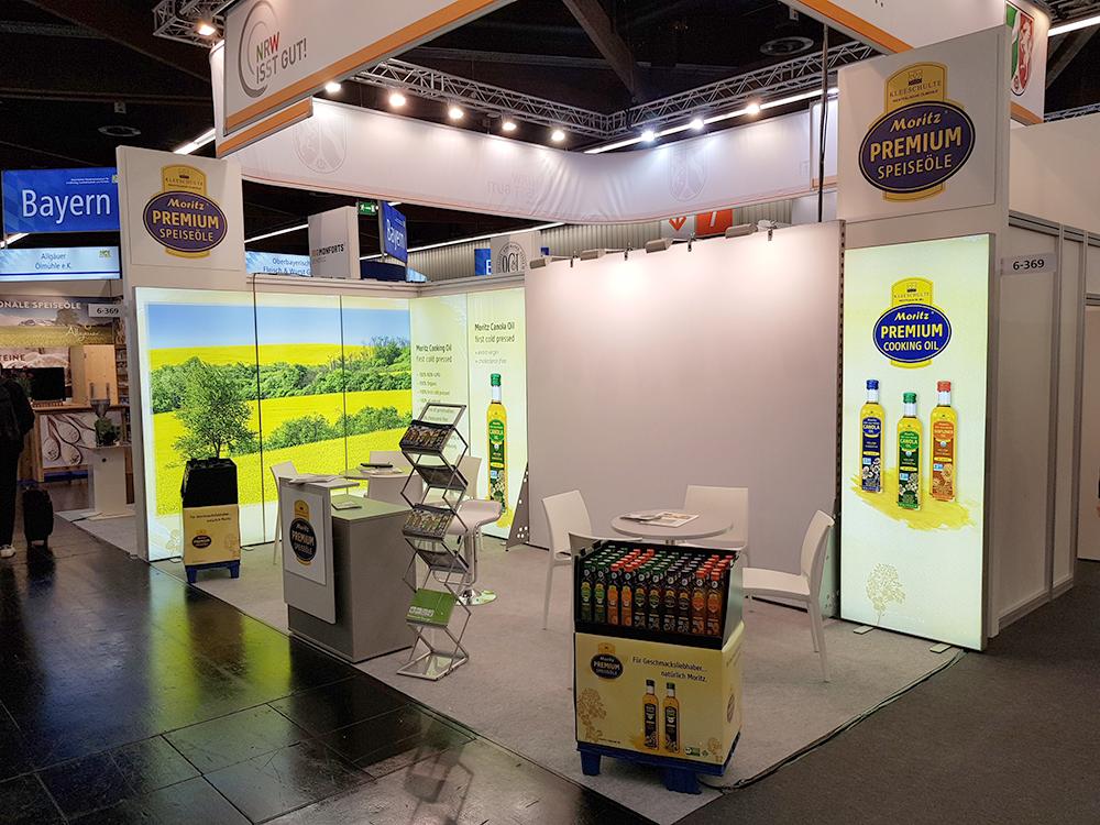 Moritz präsentiert sich auf Fachmesse für BIO Lebensmittel